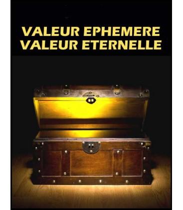 Valeurs éphémére /Valeurs eternelles (cd)