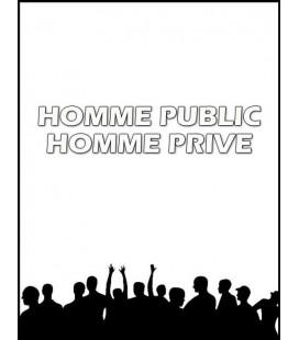 Homme Public ou Homme privé (cd)