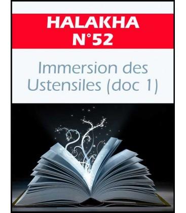 Halakha 52 immersion des ustentiles doc1