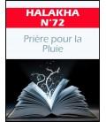 Halakha 72 priere pour la pluie