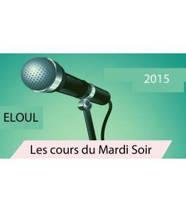 Mardi 1 septembre 2015  SUJET:ELOUL