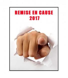 Remise en cause 2017