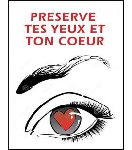 Préserve tes yeux et ton coeur (cd)