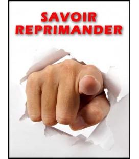 Savoir réprimander (dvd)