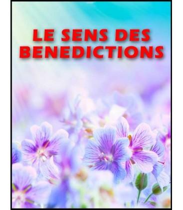 Le sens des benedictions (mp4)