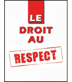Le droit au respect (cd)