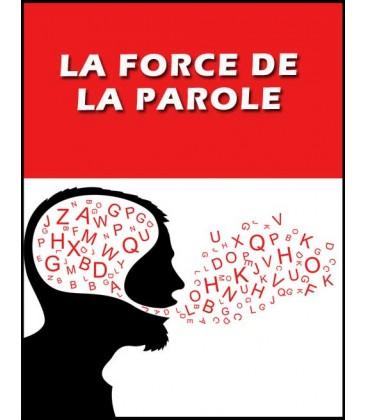 La force de la parole (cd)