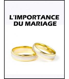 L'importance du Mariage (mp3)