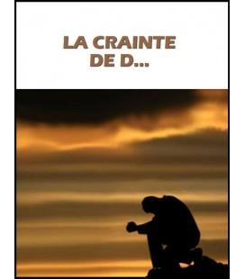 La crainte de D. (dvd)