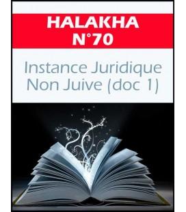Halakha 70 Instance juridique non juive doc 1