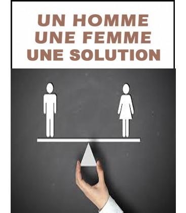 Un homme une femme une solution
