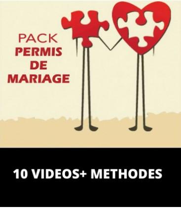 Pack Permis de Mariage