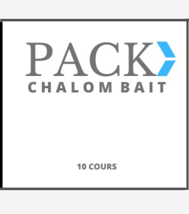 pack chalom bait